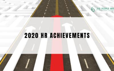 【Performance Appraisal 加分位】2020 HR 7大成就